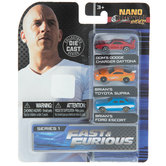 Nano Hollywood Rides Die Cast Cars