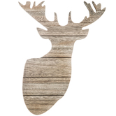 Wood Slat Deer Head