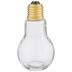 Light Bulb Glass Jar - 3.5 Ounce