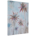 Palm Tree Painted Canvas Wall Decor