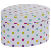 Bright Polka Dot Egg Box