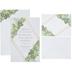 Gold Foil Geo Botanical Wedding Invitations