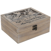 Hummingbird Wood Memory Box
