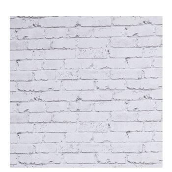 Whitewash Brick Bulletin Board Paper