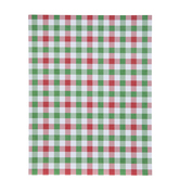 "Red & Green Buffalo Check Paper - 8 1/2"" x 11"""