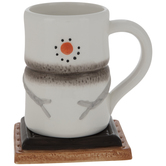 S'mores Snowman Mug