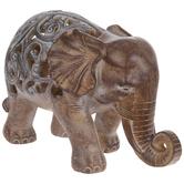 Brown & White Regalia Elephant