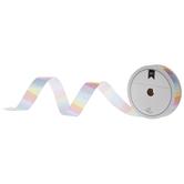 """Pastel Striped Single-Face Satin Ribbon - 5/8"""""""