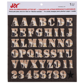 Camo Embroidered Letter Iron-On Applique Alphabet
