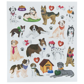 Dog Glitter Stickers