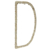 Cornstalk Wrapped Letter Wall Decor - D