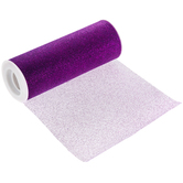 Purple Glitter Tulle - 6""