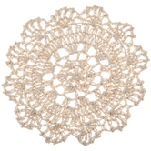 Round Natural Doily - 5 1/2""