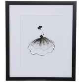 Black & White Fashion Framed Wall Decor