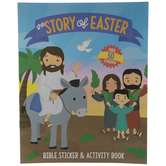 Easter Story Bible Sticker & Activity Book