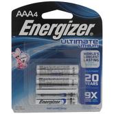 Ultimate Lithium Batteries - AAA