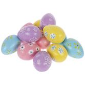 Pastel Floral Glitter Egg Filler
