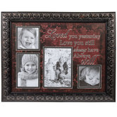 Love You Still Wood Collage Wall Frame