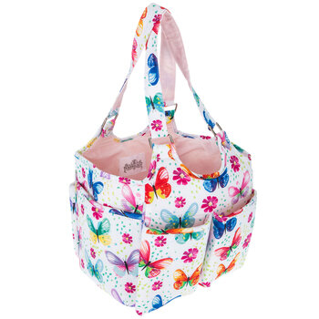 Butterfly Yarn Tote Bag