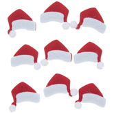 Santa Hats 3D Stickers