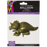 Foil Triceratops Balloon