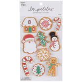 Christmas Cookies 3D Stickers
