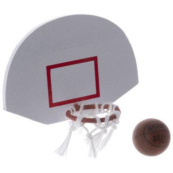 Miniature Basketball Goal & Ball