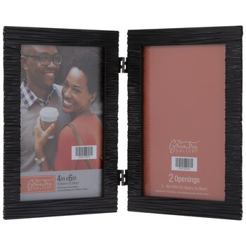 Woven Metal Collage Frame