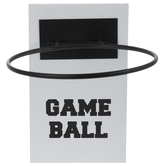 Basketball Holder Wood Wall Decor