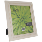 "White Distressed Wood Frame - 8"" x 10"""