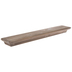 Brown Wood Wall Shelf