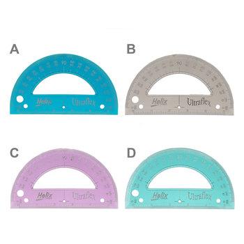 Helix Ultraflex Flexible Protractor
