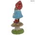 Gnome Girl On Mushroom
