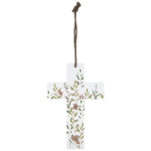 Floral Wall Cross