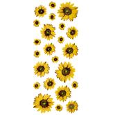 Sunflower Foil Stickers