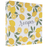 Lemon Recipe Organizer