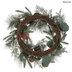 Snowy Pine & Eucalyptus Wreath