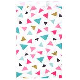 Confetti Triangles Treat Sacks