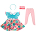 Princess Rachel Floral Doll Dress