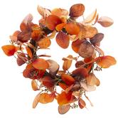 Orange Eucalyptus Wreath