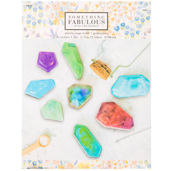 Gemstones Soap Mold