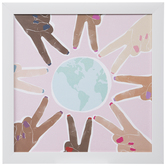 World Peace Wood Wall Decor