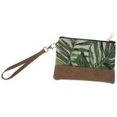 Palm Leaves Wristlet
