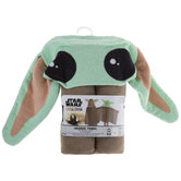 Baby Yoda The Mandalorian Hooded Towel