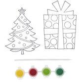 Christmas Tree & Gift Suncatcher Craft Kit