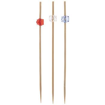 Red, White & Blue Bamboo Picks