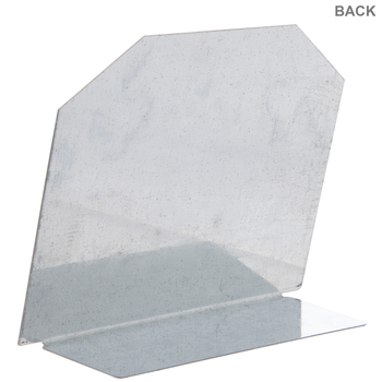 Galvanized Metal Place Card Stands