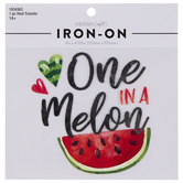 One In A Melon Iron-On Applique