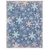 """Snowflake Mix Scrapbook Paper - 8 1/2"""" x 11"""""""