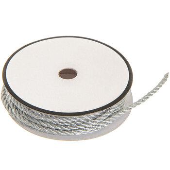 Silver Metallic Cord - 2mm